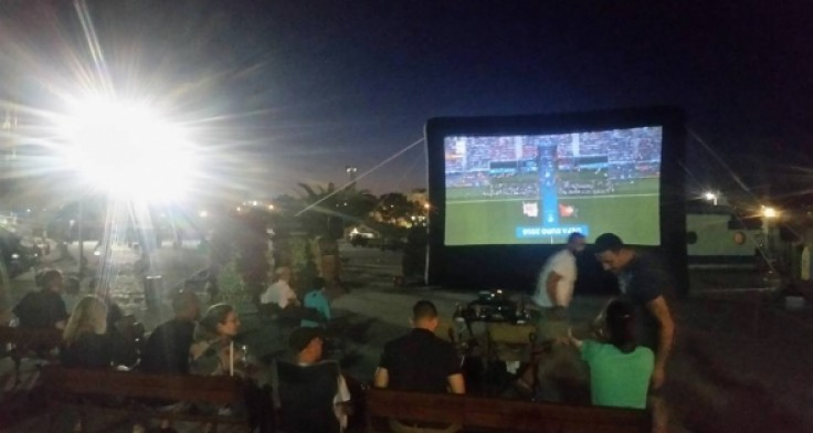 Гледаме финала на Евро 2016 на голям екран край морето