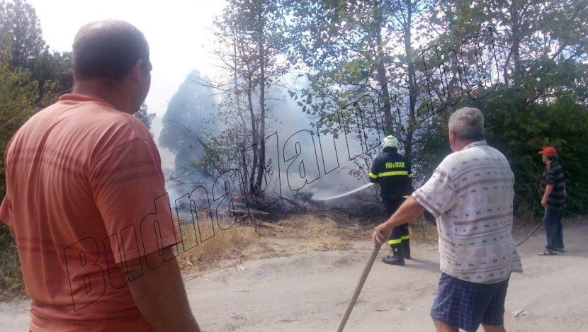 """Първо в BudnaVarna.bg: пожар и в м-т """"Ментеше"""" (снимки)"""