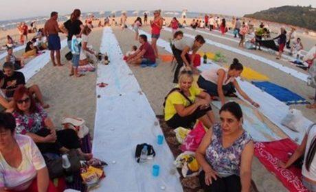 """В """"Аспарухово"""" отново правят най-дългата вечеря на плажа"""