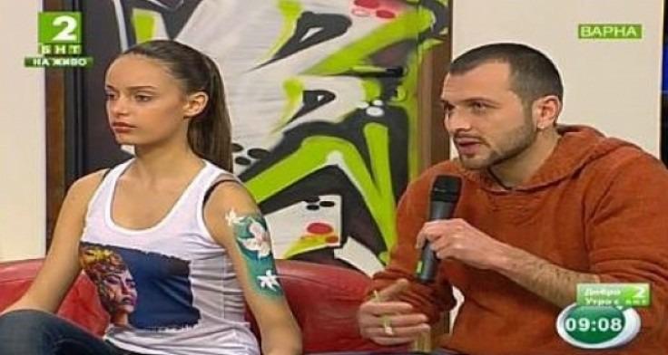 Татуираха модел и водеща в живо предаване на БНТ2 от Варна