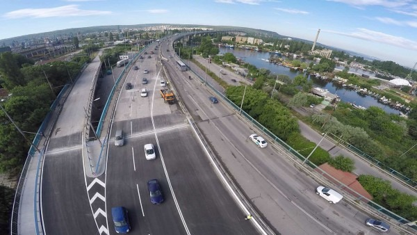 Отлагат втория етап от ремонта на Аспаруховия мост за пролетта
