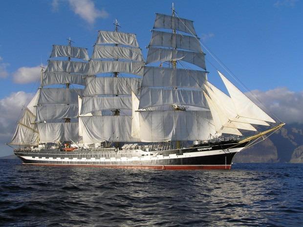 Руски ветроход гигант потвърди участие в Tall ships