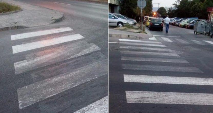 Варненка алармира: С каква боя се прави пътната маркировка
