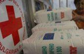БЧК-Варна продължава раздаването на индивидуални пакети с храни