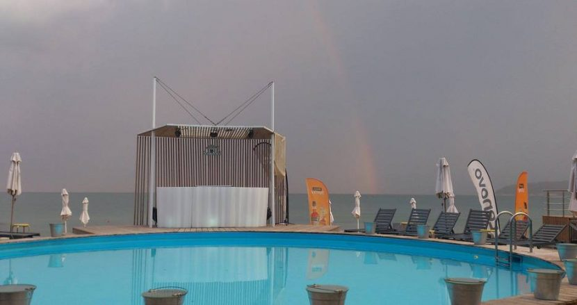Дъга блесна във Варна след пороя!
