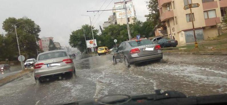 За 5 минути Варна стана Венеция (снимки)