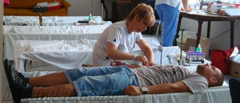 Коледна кръводарителска акция организират варненски спортисти