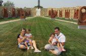 Българи се венчават и кръщават в Двора на кирилицата в Плиска