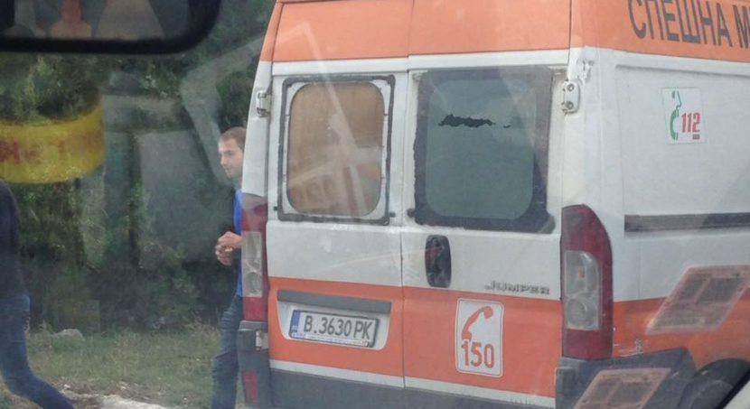 Варненските линейки разбити (снимки)