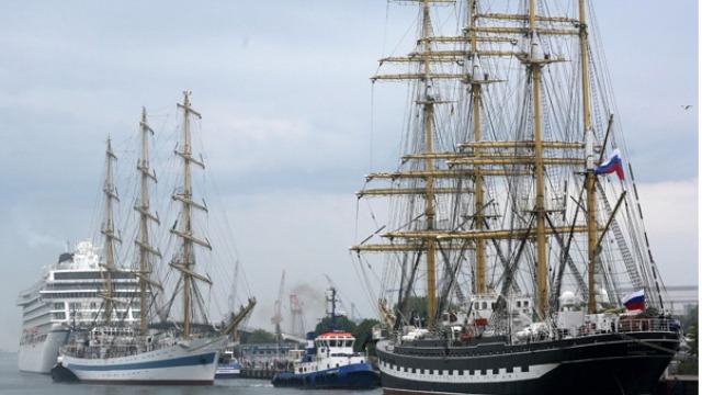 Tall Ships: Западният вятър уплаши капитаните