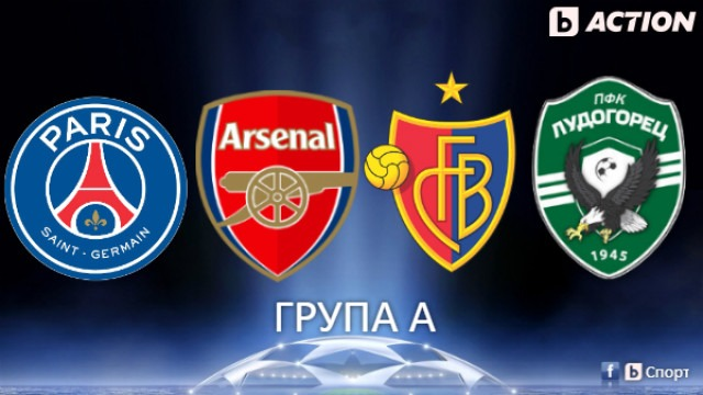Лудогорец иска победа над ПСЖ – група А Шампионска лига