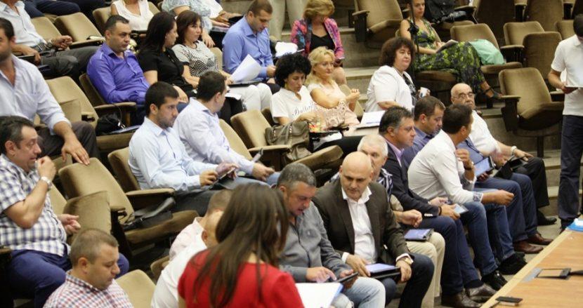 Сесията на общинският съвет приключи за минути