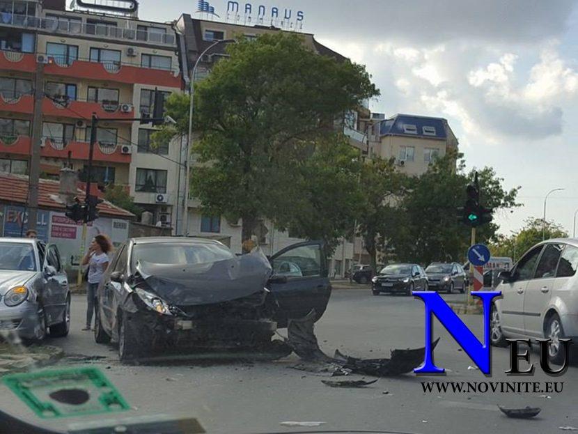 "Зверска катастрофа под стадион ""Спартак"" (снимки)"