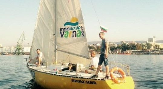 Логото на Варна 2017 вече и на ветрила на яхти