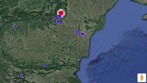 Регистрирано е земетресение в България