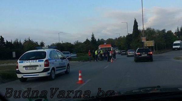 Катастрофа до Евксиноград (снимки)