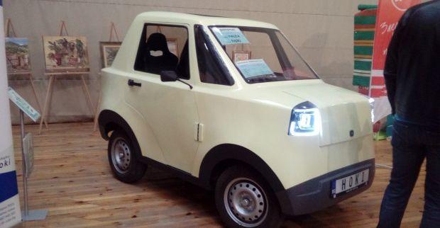 Електрически автомобил произведоха във Варна