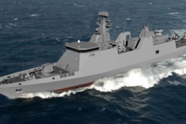 Представиха български военен кораб на изложение в Париж