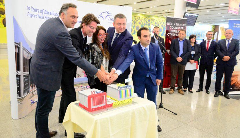 """""""Фрапорт"""" посрещна 35-милионен пътник на летище Варна"""