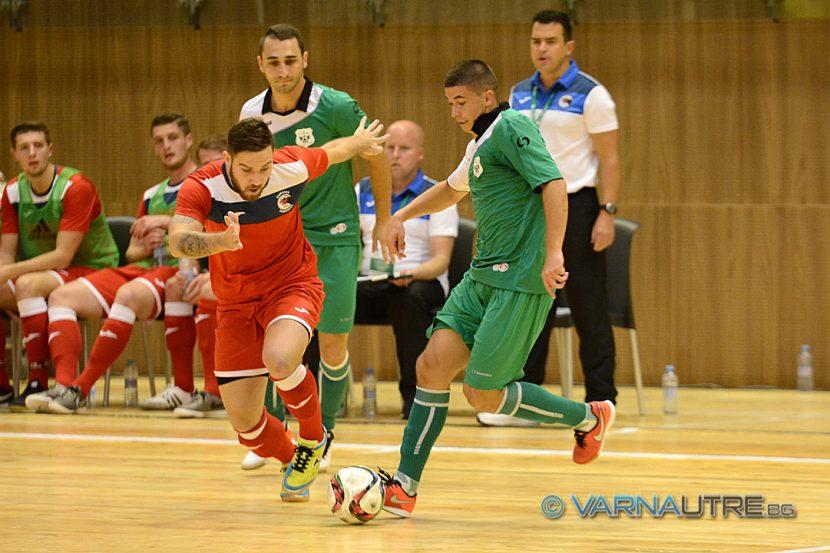 Варненският Гранд Про изпусна шанса за груповата фаза на Шампионската лига по футзал