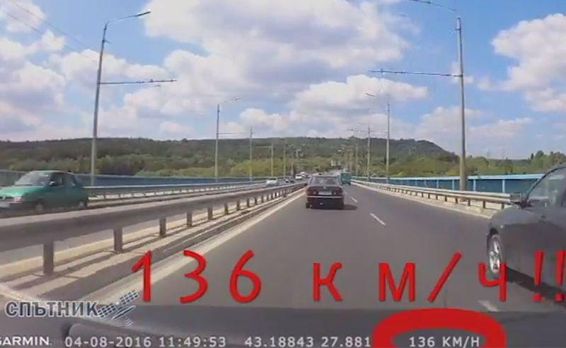 Мъмрене от кмета на Аспарухово получи шофьорът-състезател от Аспарухов мост