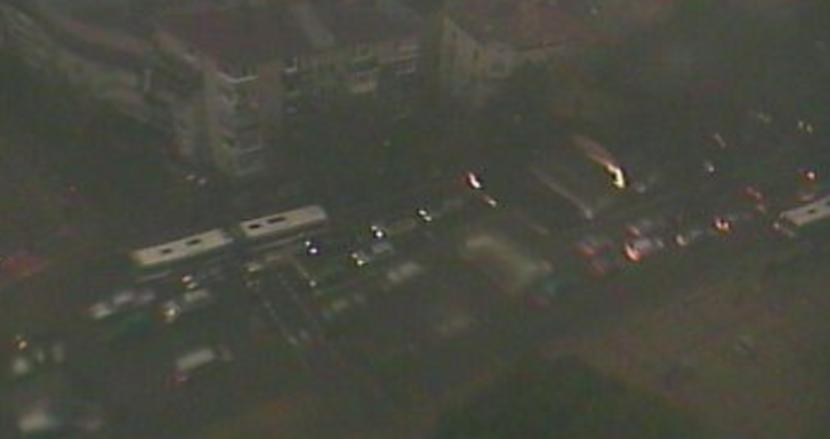 Страшни задръствания в центъра на Варна