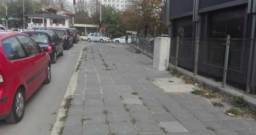"""Катастрофа на бул. """"Христо Смирненски"""" (снимки)"""