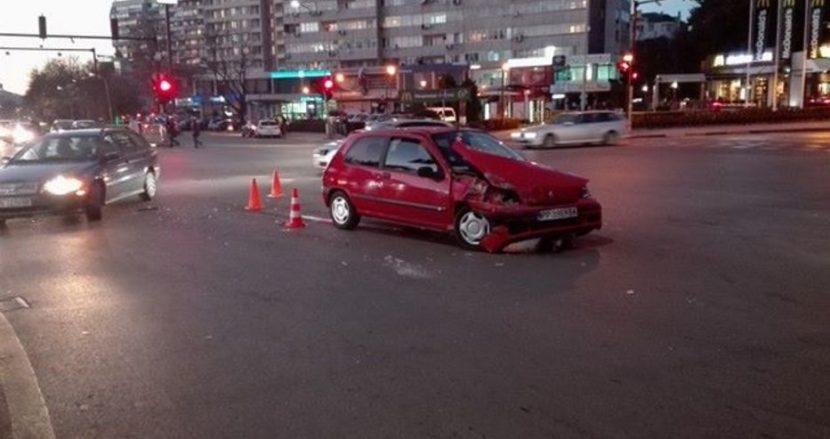 Катастрофа в широк център