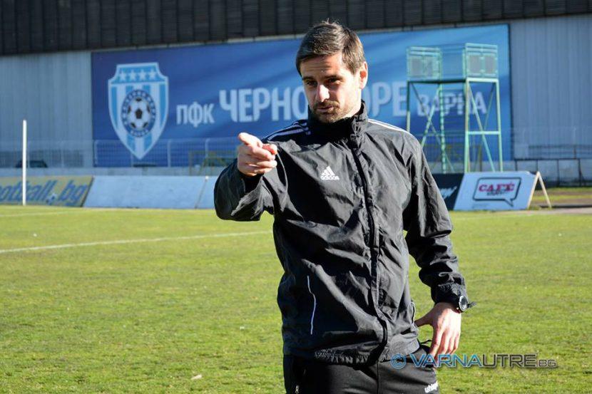 Емо Луканов: Искам Черно море изцяло с кадри от школата на клуба