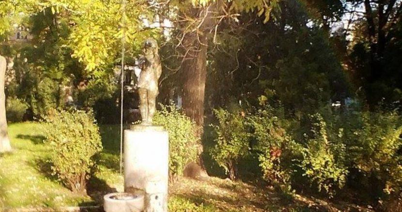 Атракция в Морската градина с триметров фонтан