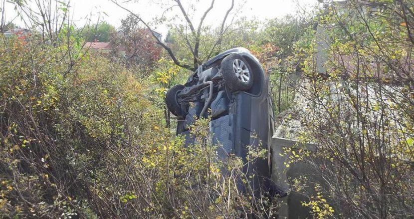 Зрелищна катастрофа край Варна (снимки)