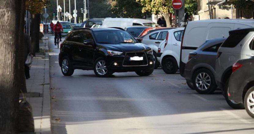 По-скоро паркинг, отколкото улица!