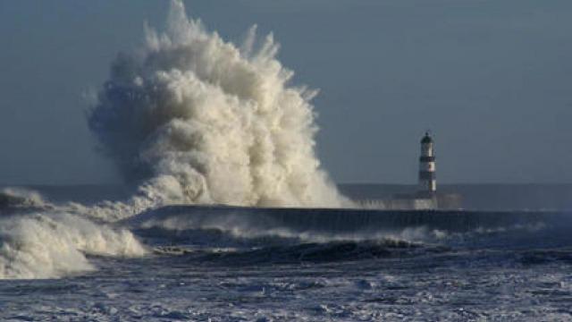 Ураганен вятър се изви над Варна!