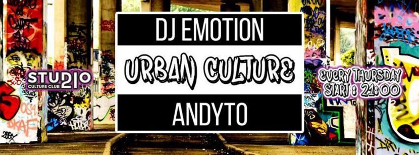 Urban Culture w/ DJ Emotion & Andyto