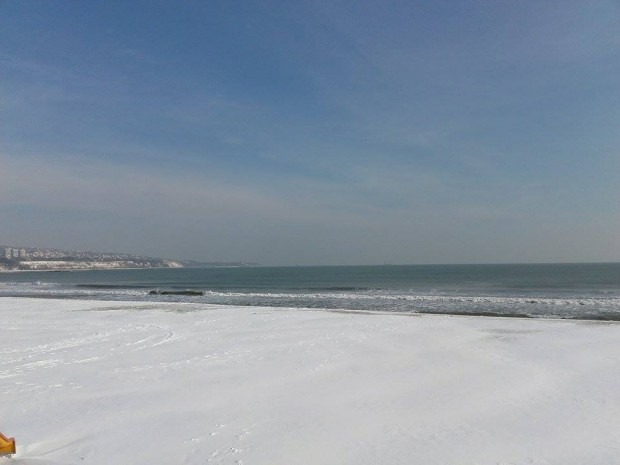 Експерти увериха: Морето във Варна няма да замръзне
