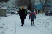 Ситен сняг засипва ледена Варна