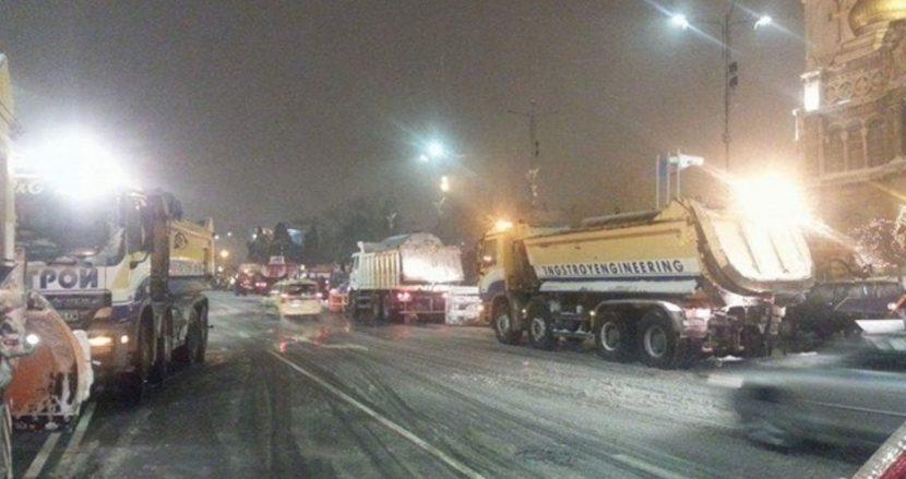 Актуална информация за зимната обстановка във Варна към 10,30 ч.