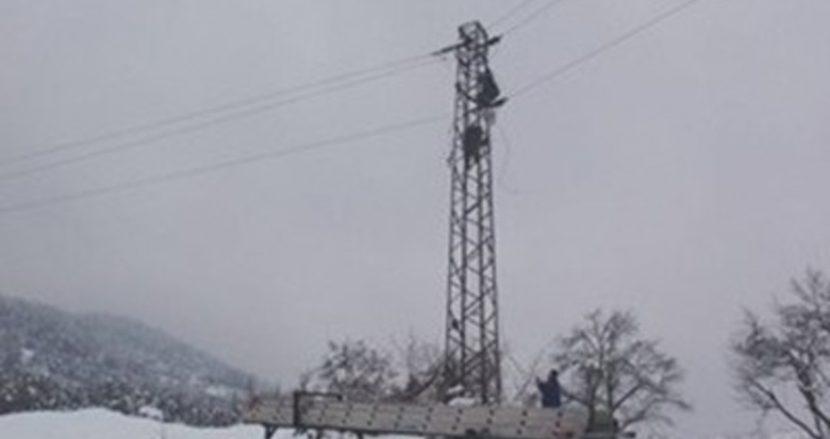 Всички населени места в Община Девня са с прекъснато електрозахранване