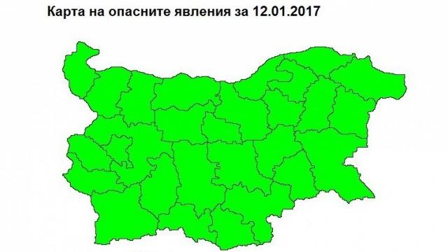 За четвъртък във Варна кодът е зелен