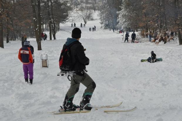 На ски пистата във Вълчи дол откриха сезона
