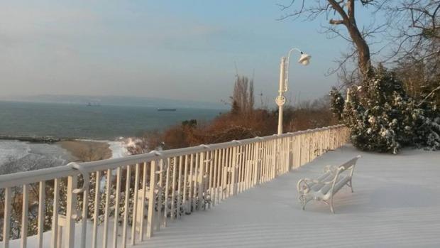 """Резиденция """"Евксиноград"""" през зимата (снимки)"""