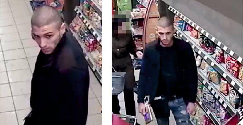 Този мъж краде от супермаркети