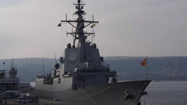 Кораби на НАТО акостираха на морска гара