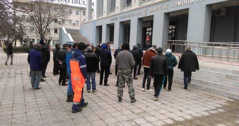 Протести на представители на морския риболовен сектор
