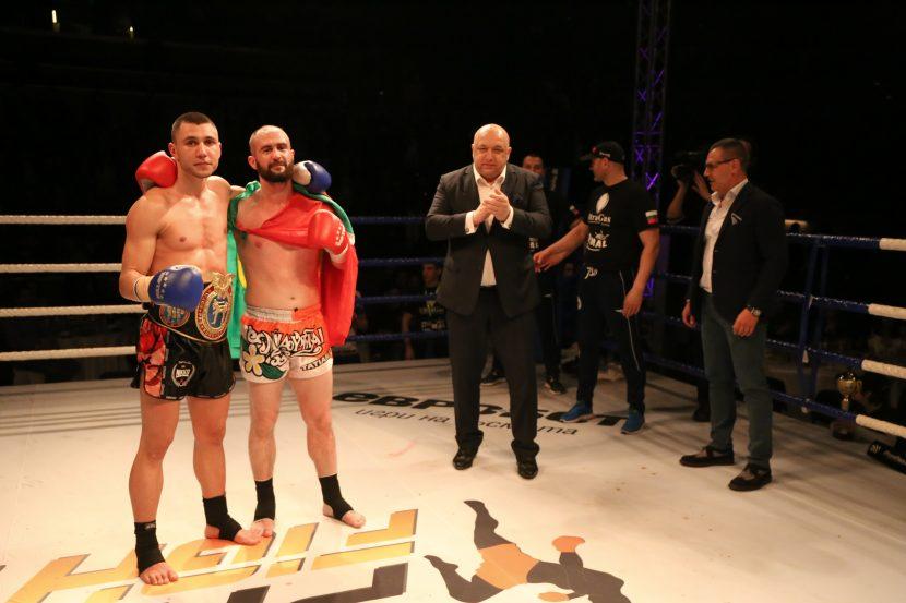Богдан Шумаров стана европейски шампион по кикбокс