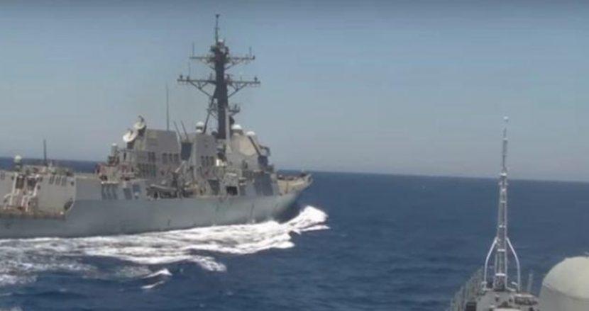"""В Черно море навлезе френската фрегата с управляемо ракетно оръжие """"Ла Файет"""""""