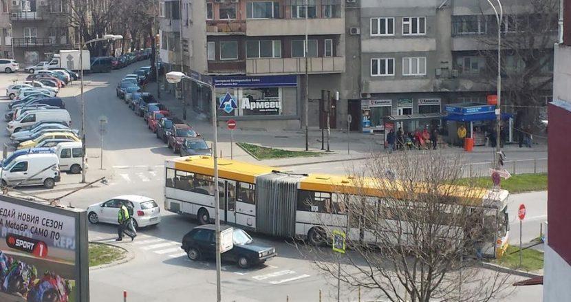 Автобус №31 катастрофира (снимки)