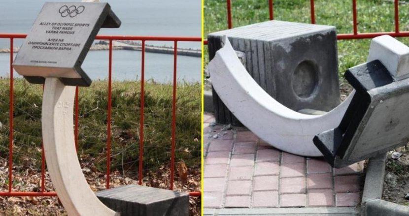 Вандали рушат отново в морската градина (снимки)