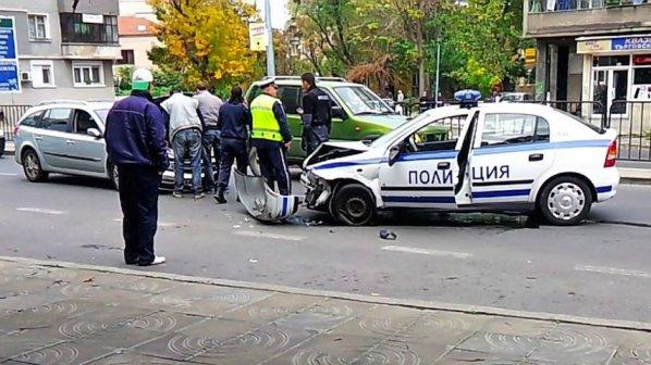 Шофьори се сбиха на улица във Варна