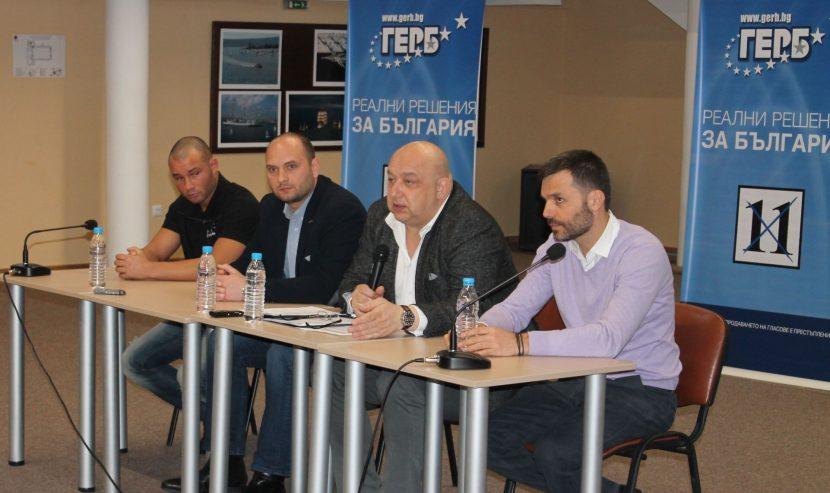 Кандидатът за народен представител Красен Кралев: Спортната инфраструкура и детско-юношеският спорт са ключови приоритети за ГЕРБ